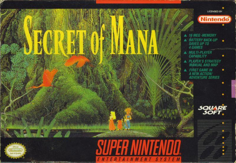 Secret of Mana cover