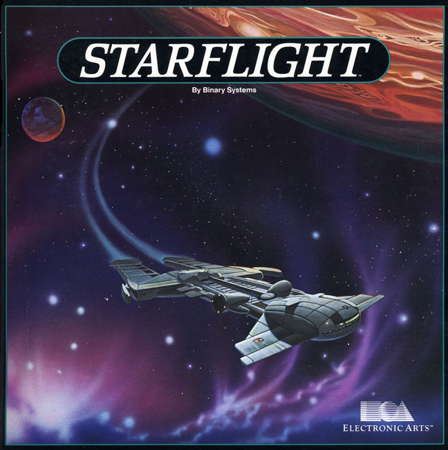 Starflight 2 Cover Art