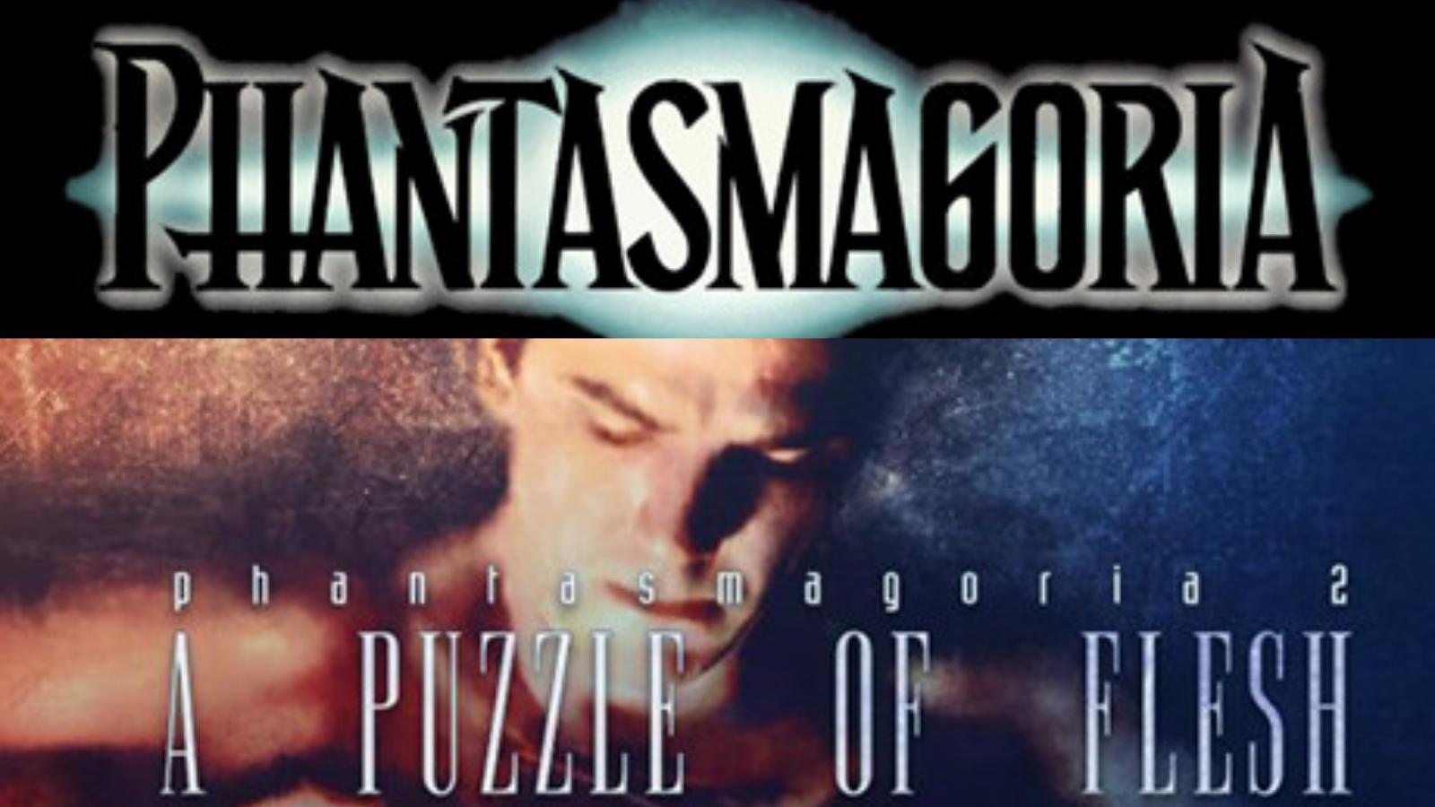 Phantasmagoria 1 and 2 Logo