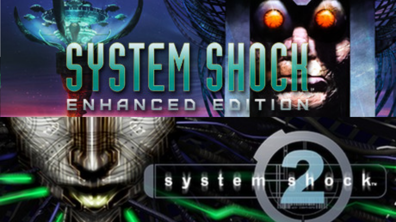 System Shock 1 and 2 logo